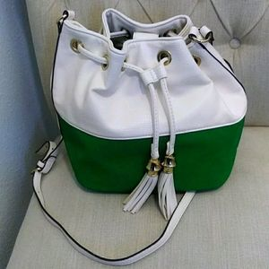 Charming Charlie Bucket Purse